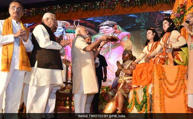 For Polls, BJP Focuses On Ram, Samajwadis On Vishnu, Congress On Shiva