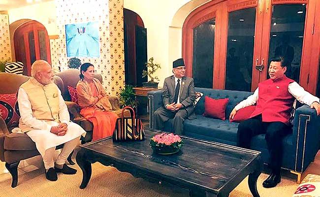 BRICS: नेपाल और चीन की बैठक में पीएम नरेंद्र मोदी ने भी की शिरकत
