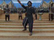 Prabhas, SS Rajamouli  On The Sets Of <i>Baahubali</i>: The Virtual Reality Tour