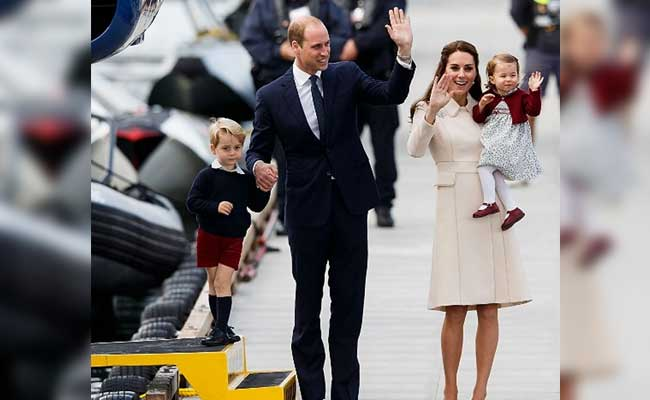 Prince William And Kate Middleton Finish Canadian Tour In Victoria, British Columbia