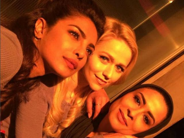 Priyanka Chopra Slays In Between-Takes Photoshoot With Quantico Co-Stars