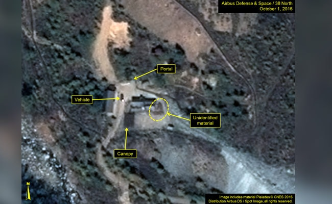 Foreign Media Head To North Korea To Witness Punggye-ri Nuclear Site Shutdown