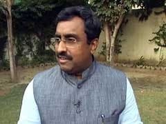 Stuck In Flight At Delhi Airport For 3 Hours, Ram Madhav Tweets This...