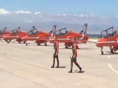 Red Arrows Of Royal Air Force To Fly In Indian Skies