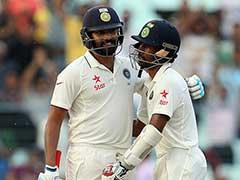 मैंने और साहा ने गेंदों को मेरिट के आधार पर खेलने का फैसला किया था : रोहित शर्मा