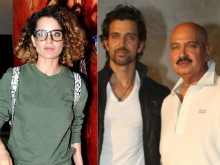 After Kangana Ranaut's Comment, Roshans Will Speak at the 'Right Time'