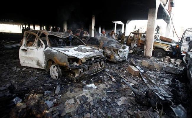यमन में सऊदी की अगुवाई वाली गठबंधन सेना के हवाई हमले में 11 लोगों की मौत