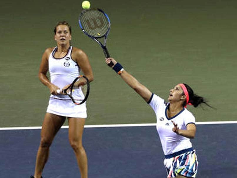 Sania Mirza-Barbora Strycova Beat Martina Hingis-Chan Yung-Jan, Enter Miami Open Final