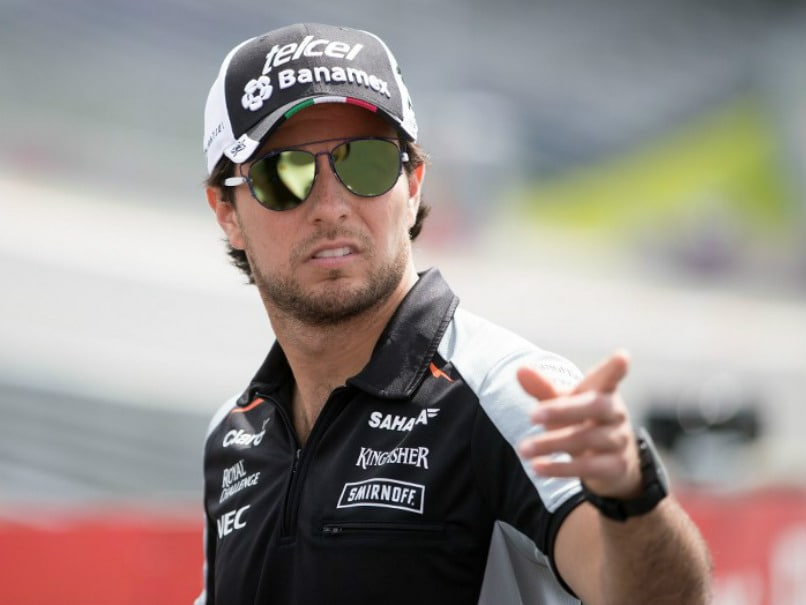 Mexican Driver Sergio Perez Dumps Sponsor Over Donald Trump Tweet
