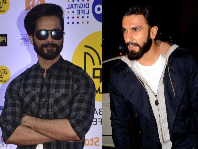 Shahid Kapoor on Feud With Padmavati Co-Star Ranveer Singh: 'It's Absurd'