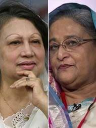 Bangladesh Election 2018: 'অচেনা লড়াইয়ের' ময়দানে আগামীর সন্ধানে দুই ব্যাটলিং বেগম