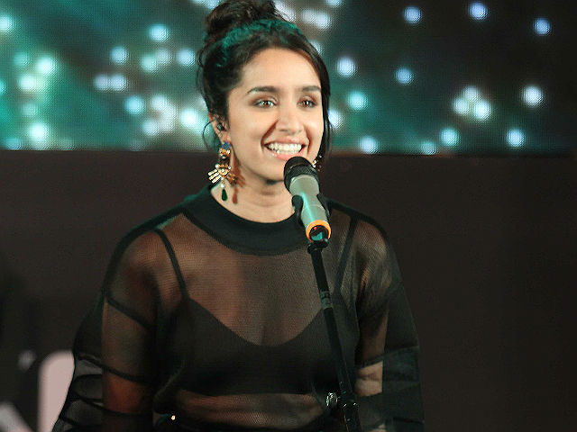 Shraddha Kapoor: Fortunate To Sing In Rock On 2