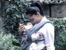 Shveta Salve Travels With Baby. Instagrams Adorable Pics