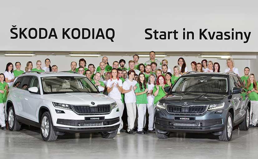 Skoda Kodiaq Suv Goes Into Production Ndtv Carandbike