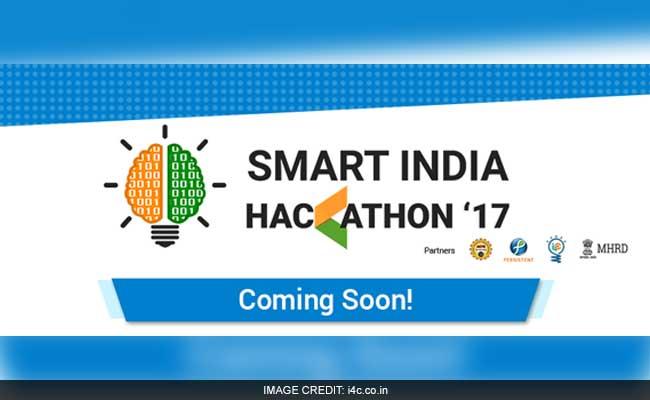 IIT, NIT Students To Brainstorm At 'Smart India Hackathon'