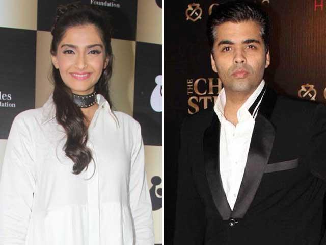 Sonam Kapoor Says, 'Karan Johar Has a Fake Laugh'