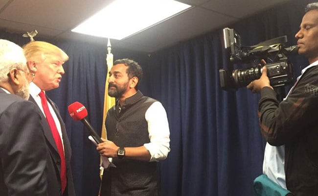 'NDTV, पहले आप...' - डोनाल्ड ट्रंप के साथ मेरा इंटरव्यू...