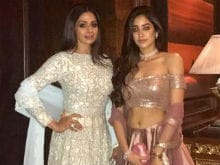 Sridevi And Daughter Jhanvi Own The Ethnic Look. Can't Get Over This Pic