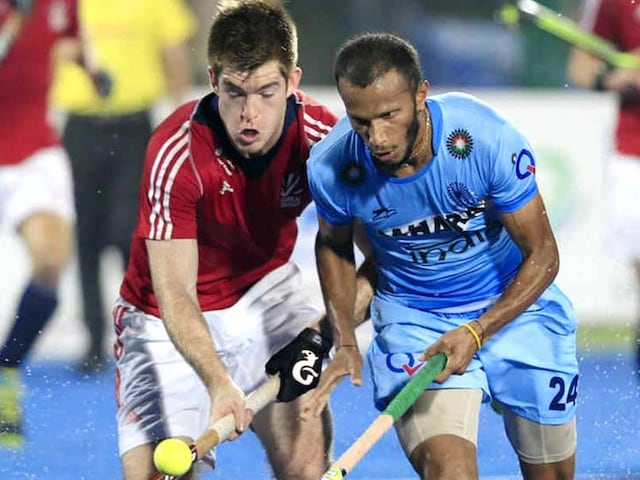 Injured SV Sunil, Manpreet Singh Out of Hockey Squad For Asian Champions Trophy
