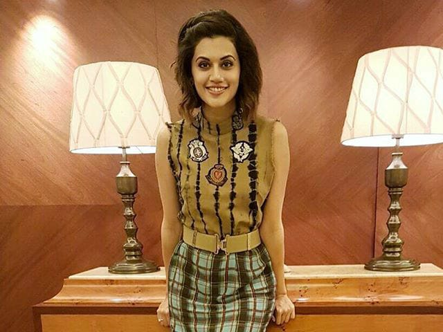 Taapsee Pannu is Taking Martial Arts Lessons For Naam Shabana