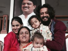 Riteish And Genelia's Sons Are the Stars of Deshmukh Family Pic