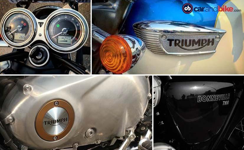 Triumph Bonneville T100 Gets Retro Chic Styling
