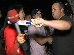 Donald Trump Supporters Heckle NDTV Reporter, Threaten To Knock Her Mic Down