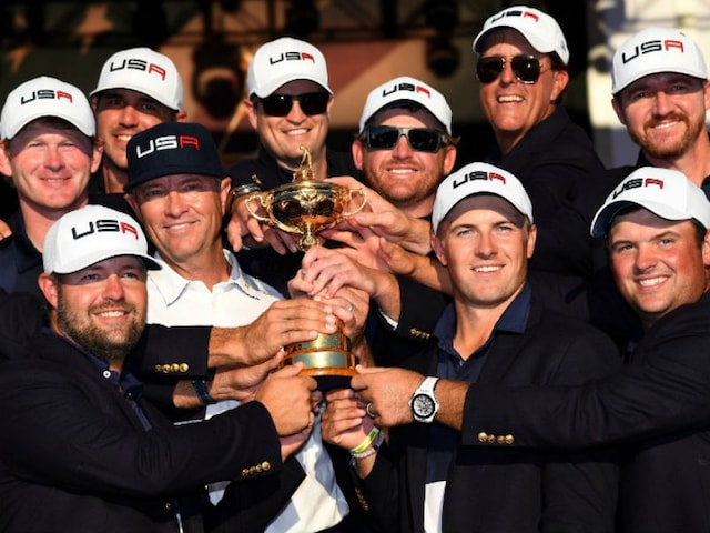 United States Rip Europe 17-11 to End Ryder Cup Drought