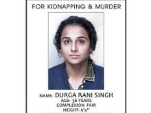 First Look: Vidya Balan is the 'Wanted' Durga Rani Singh in <i>Kahaani 2</i> Poster