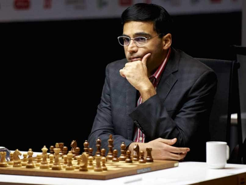Viswanathan Anand Draws With Fabiano Caruana in London Chess Classic