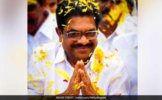 Congress Veteran VM Sudheeran Seeks High Command's Intervention In Party's Kerala Unit