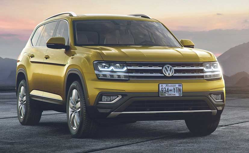 Vw Atlas Uae >> Volkswagen Atlas SUV Holds Big Potential In India - NDTV CarAndBike