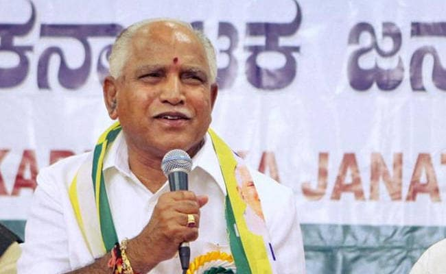 BS Yeddyurappa Says He Will Contest From Shikaripura Constituency