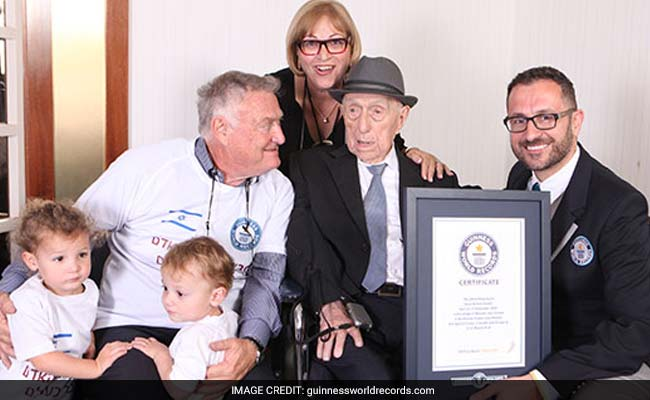 World's Oldest Man Celebrates Bar Mitzvah At 113