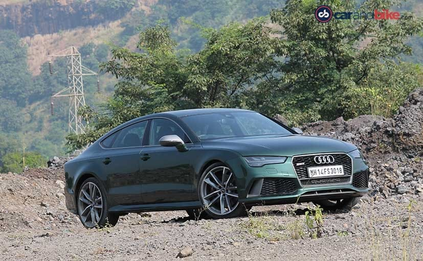 2016 Audi RS7 Performance Front