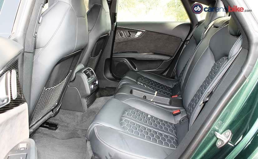 2016 Audi RS7 Performance Interior