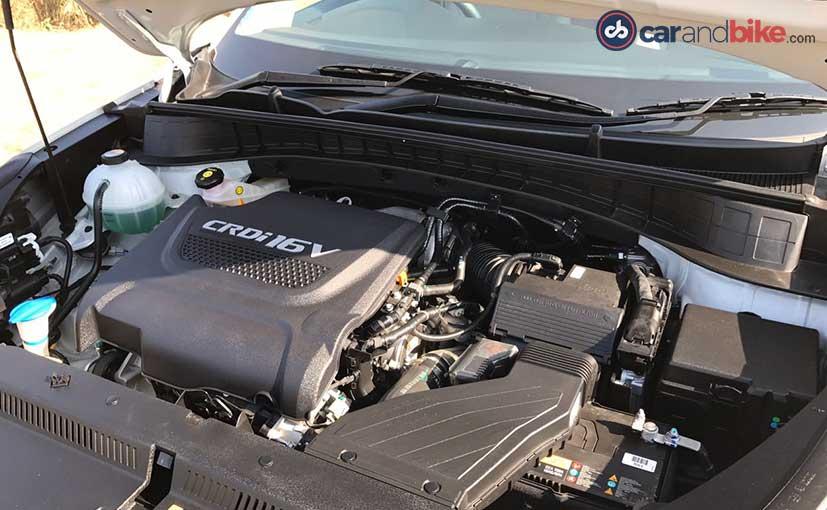 2016 Hyundai Tucson Diesel Engine