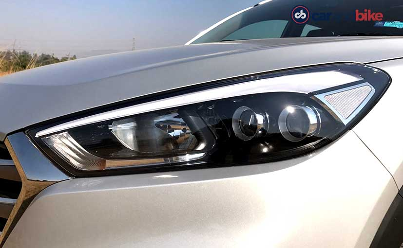 2016 Hyundai Tucson Headlamp