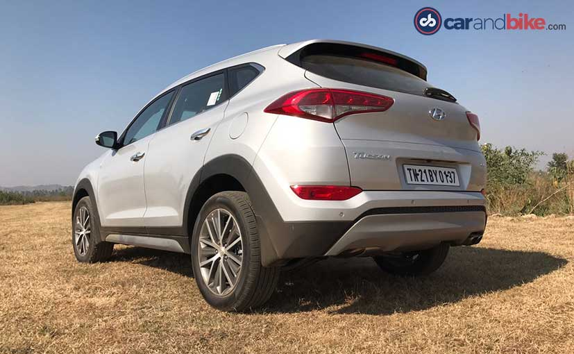 2016 Hyundai Tucson Rear Profile