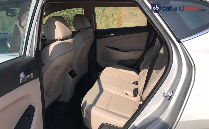 2016 Hyundai Tucson Seats