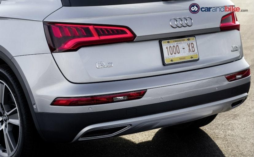 2017 Audi Q5-Rear