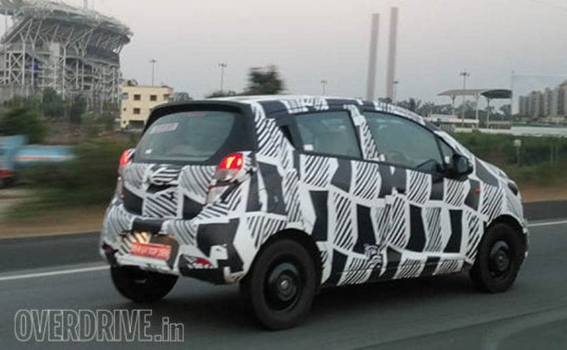 2018 chevrolet beat. beautiful chevrolet 2017 chevrolet beat hatchback caught testing in india  ndtv carandbike to 2018 chevrolet beat