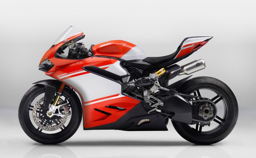 ducati 1299 superleggera launched in india; priced at rs. 1.12