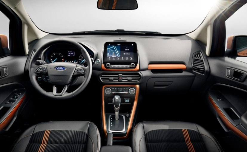 2017 Ford EcoSport Facelift Interior