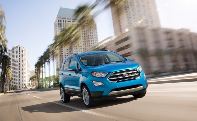 New Ford EcoSport AWD To Be Manufactured In India and then exported to the US