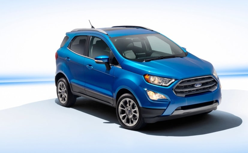 Ford Ecosport 2017 facelift