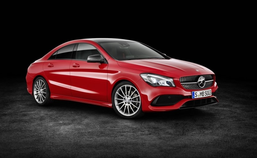 2017 Mercedes Benz Cla Facelift India Launch Date Revealed
