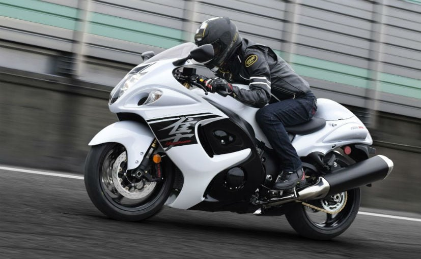 Turbocharged Suzuki Hayabusa Expected In 2018 - NDTV CarAndBike