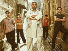 <I>Dangal</i>'s <I>Dhaakad</i> Poster: Aamir Khan and Daughters Mean Business