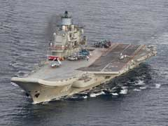 Russia's Only Aircraft Carrier On Fire In Port: Report